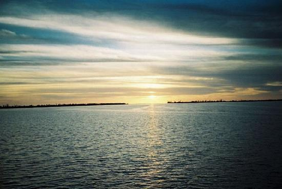 เกาะซานิเบล, ฟลอริด้า: Sunset over Sanibel Island, Florida, 8 October, 2008 [2]