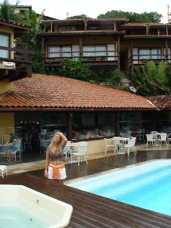 Hotel Ville La Plage: piscina superior