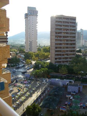 MedPlaya Hotel Rio Park: view from balcony on floor 6.