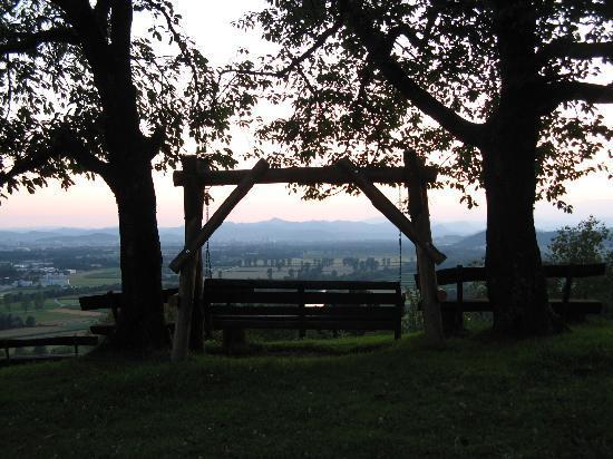 Pri Lazarju: Lovely view at sunset