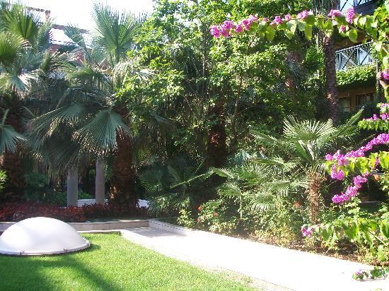 Parc Hotel Gritti: garden area