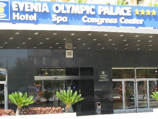Evenia Olympic Palace: Davant Olympic Palace
