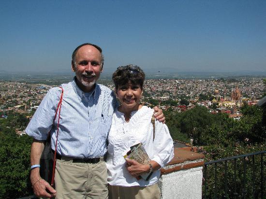Casa Quetzal Hotel: Overlook of San Miguel