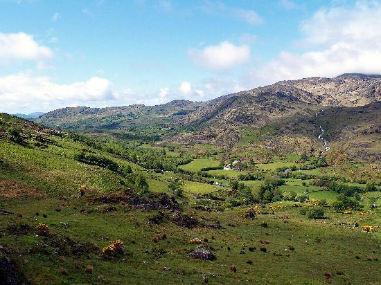 Kenmare, Irland: View from the Kilgarvan-Kealkill road