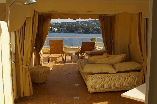 Iberostar Suites Hotel Jardín del Sol: terrace with balinese bed