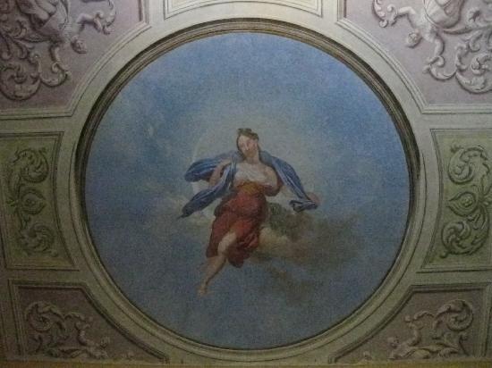 La Luna Guest House: Fresco de La Luna