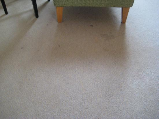 โรงแรมเดอะรอแยล บินตัง: Dirty Carpet