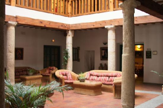 Palacio Buenavista Hospederia: Reception