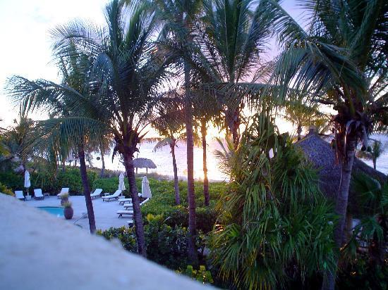 Grace Bay Club: la vista al tramonto dalla stanza