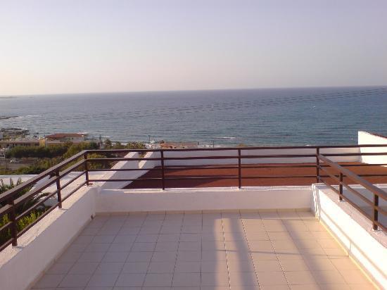 King Minos Palace Hotel: Sea view