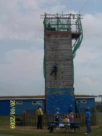 Pontin's Camber Sands Centre: Climbing wall