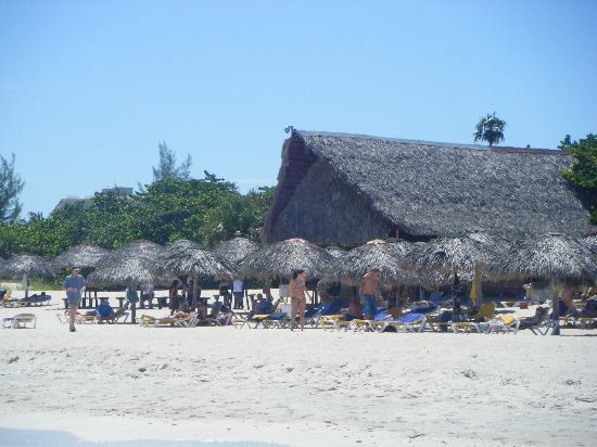 Iberostar Tainos: bar plage