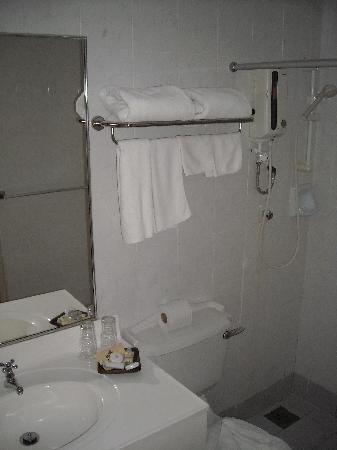 โรงแรมปูริ: Bathroom