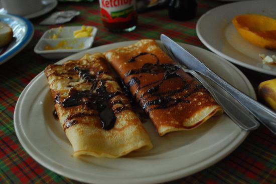 Trudi's Place: chocolate pancakes