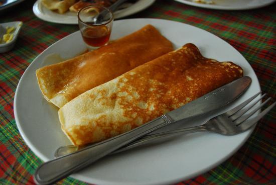 Trudi's Place: plain pancakes