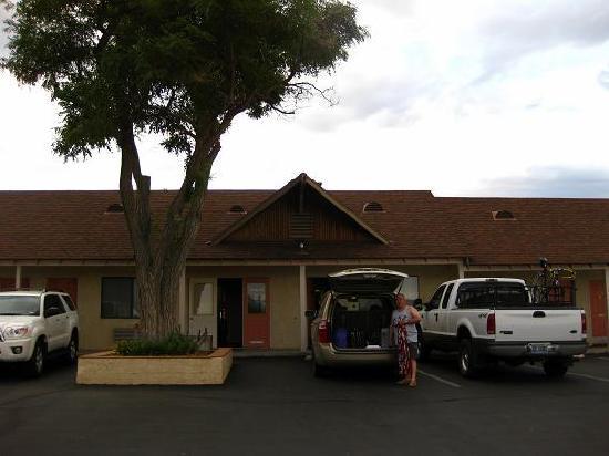Best Western Plus Frontier Motel: En la puerta de nuestra habitacion