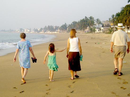 Hotel La Posada: The beach