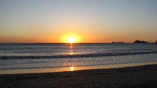 Sugar Beach Hotel: Sugar Beach sunset