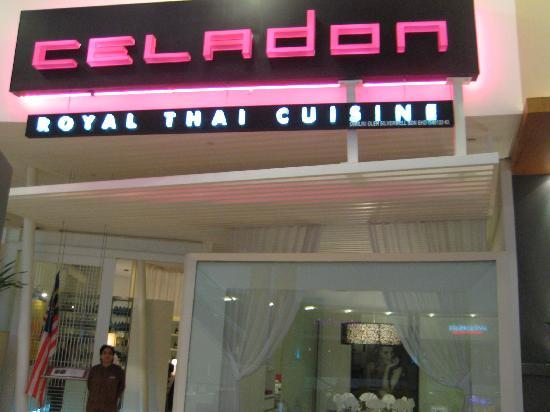 Celadon: At front