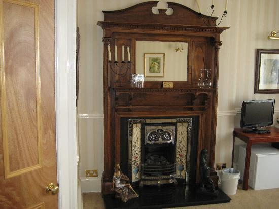 The Conifers Guest House: The Beautiful Fireplace