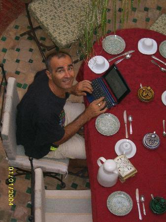 Riad Aguerzame: colazione da Antoine