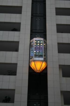ฮิลตัน ปราก โฮเต็ล: The elevator !