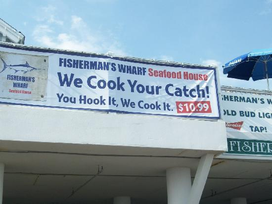 Fisherman's Wharf: Bring your own fish for dinner