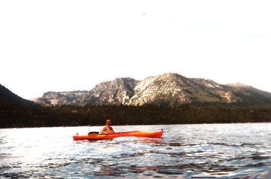 Camp Richardson Resort: Kayaking on Lake Tahoe