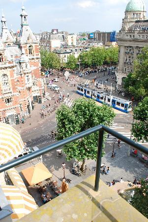 American Hotel Amsterdam: view from room 505