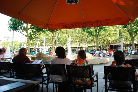 American Hotel Amsterdam: cafe