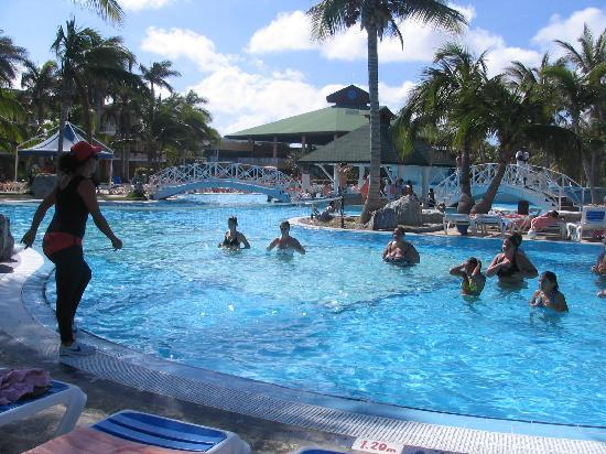 TRYP Cayo Coco: aérobie dans l'eau