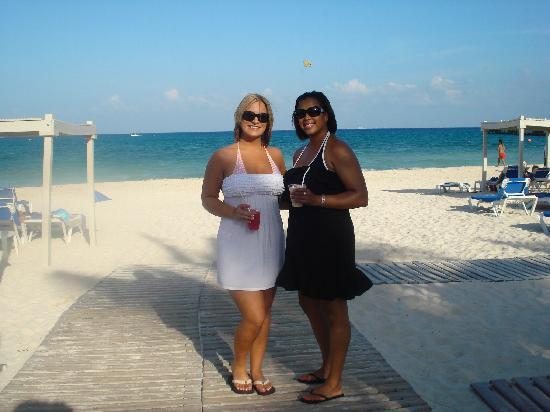 The Royal Playa del Carmen: WITH MY BEST FRIEND 1ST DAY THERE!