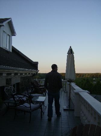 Le Manoir du Rocher de Grand-Mere: Nice view of the St-Maurice