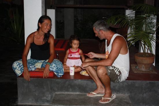 Sagana Resort: Susan, Lily and Gerry- Owners