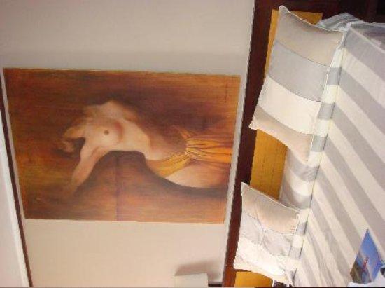 Hotel Estela Barcelona - Hotel del Arte: cabecero de la cama
