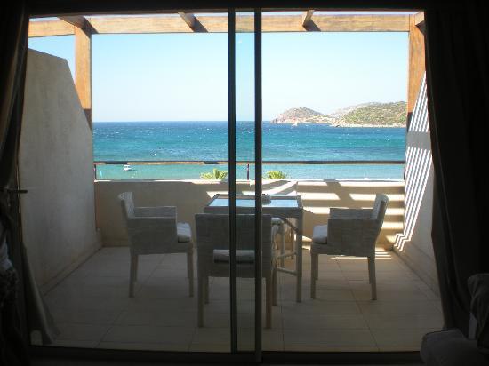 Plaza Resort Hotel : terrasse chambre