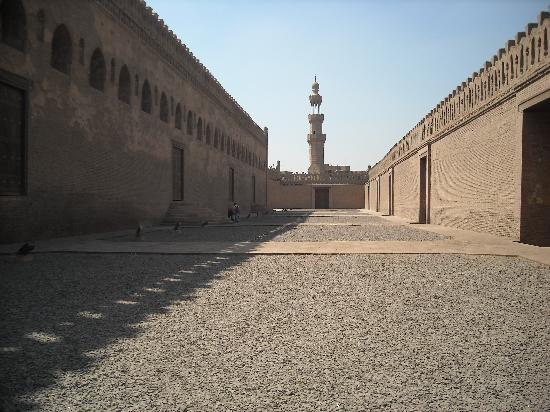 Mosque of Ibn Tulun: planta baja