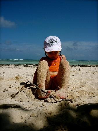 Eden Vanilla: Ma fille a la plage de Bois Jolan