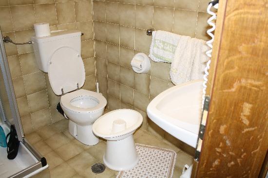 Hotel Pider: Il bagno di una loro camera standard