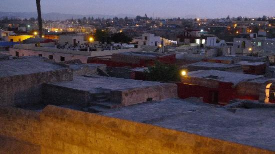 Hostal La Reyna: The view of Santa Catalina from the rooftop.