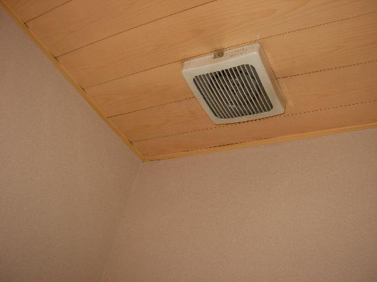 โรงแรมเอโดะยะ: aspiratore bagno rotto - bagno senza finestra