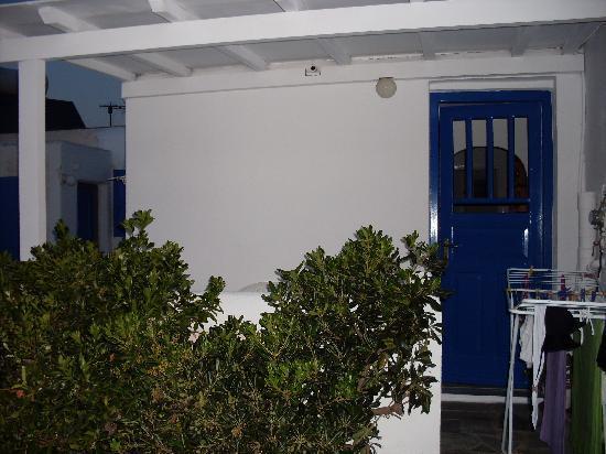 Angelika Studios: vista esterna dell'appartamento
