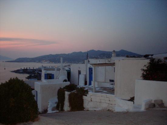 Angelika Studios: panorama dalla finestra della camera da letto