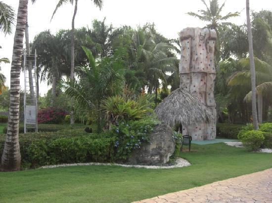 Melia Caribe Tropical All Inclusive: Rock Wall