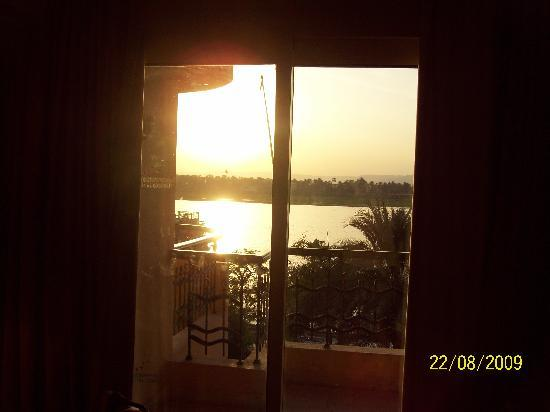 Steigenberger Nile Palace Luxor: room with a view