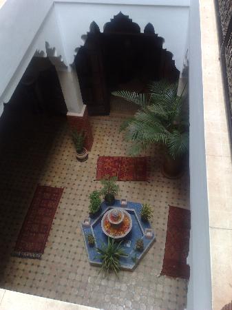 Riad Andalla: le patio