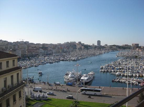 New Hotel Vieux Port: Balcony view