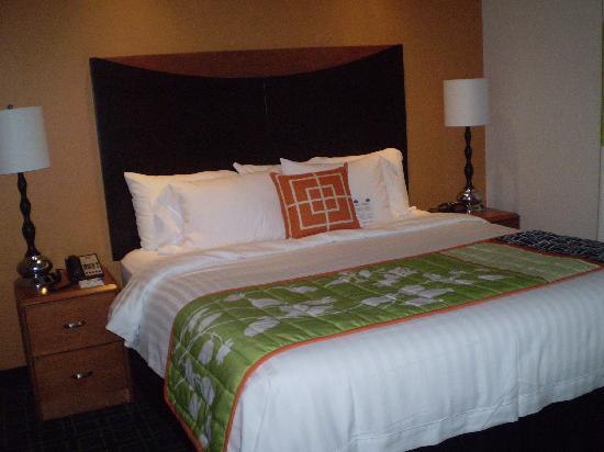 Fairfield Inn & Suites Orlando at SeaWorld: Hotel Room