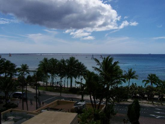 The Residences at Waikiki Beach Tower: view from 603