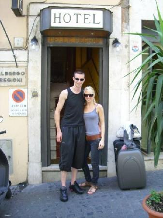 โรงแรมเดลเล เรจิโอนิ: Hotel Delle Regioni